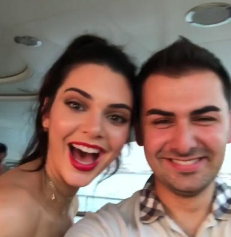 Türk iş adamından Kendall Jennera lüks hediye