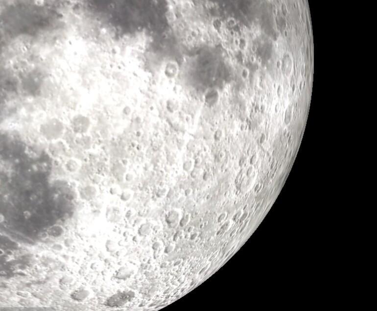 Süper Ay Hubble teleskopla böyle izlendi