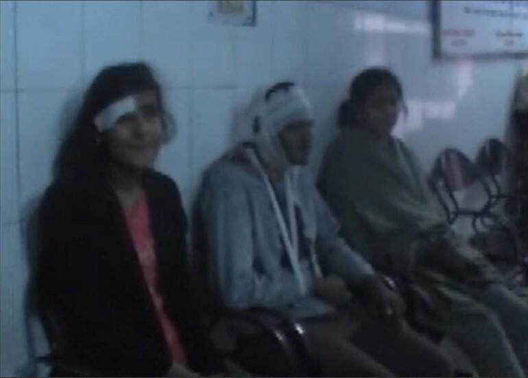 Hindistanda tren kazası En az 90 ölü