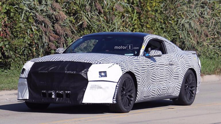 2018 Mustang 10 ileri vitesli olabilir