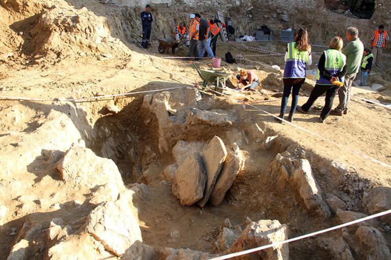 Milasta keşfedildi Arkeologlar şaşkına döndü