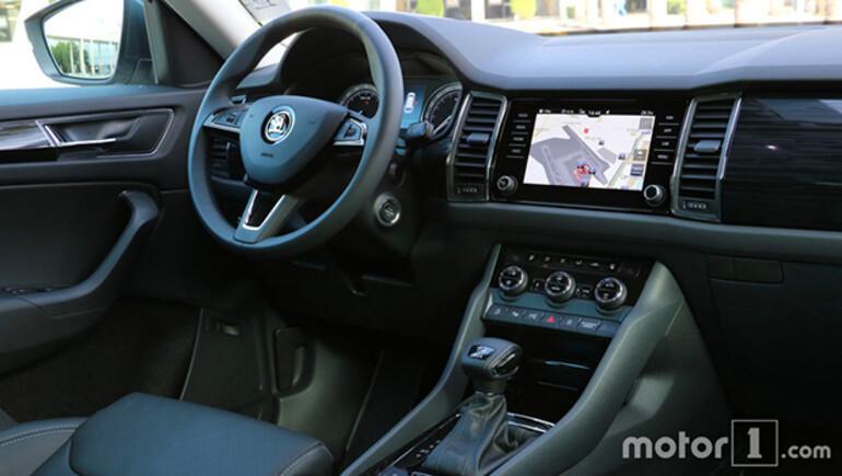 Skodanın iddialı SUVsi Kodiaq test sürüşünde