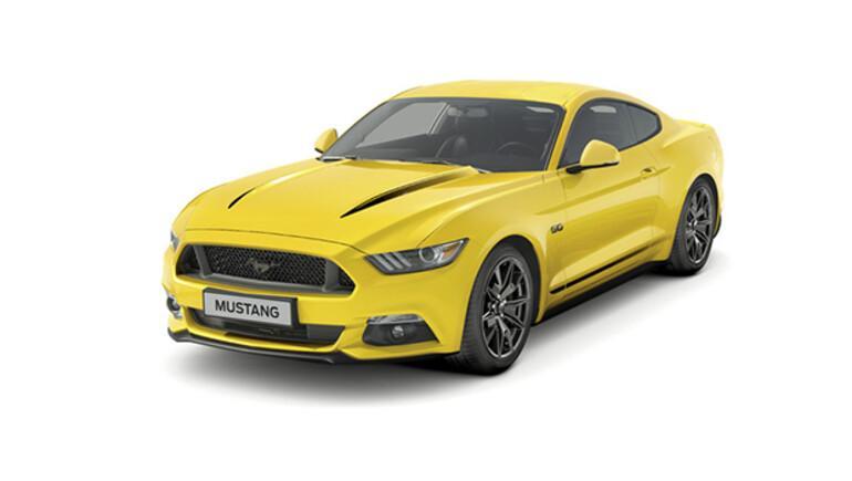 Yeni ve çok özel iki yeni Mustang