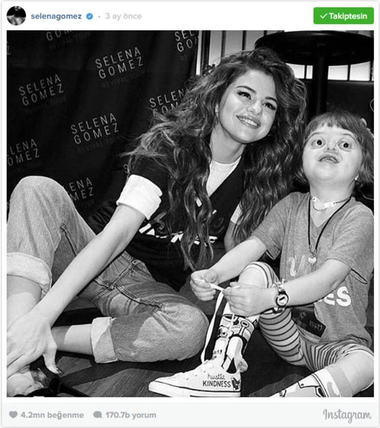 Selena Gomez Instagramın tahtına oturdu