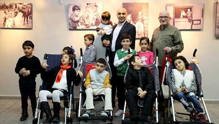 Hakan Kumuktan Serebral Palsili Çocuklara destek