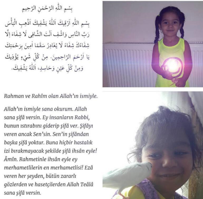 Şarkıcı Tarık Mengüç kızı için dua istedi