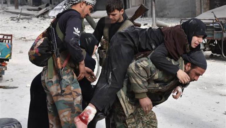 Halepte korkulan oldu