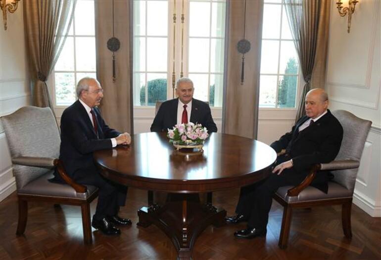 Son dakika... Çankaya Köşkünde 3 lider buluştu