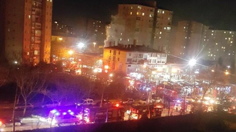 Son dakika: HDP Beylikdüzü İlçe Başkanlığı'na saldırı sonrası patlama