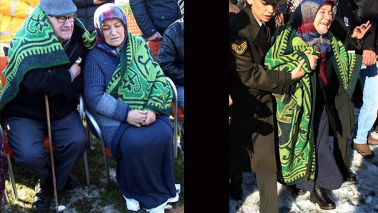 Şehit Kenan Döngel'in cenaze töreninde gözyaşları sel oldu