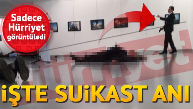 Son dakika: Rusya Büyükelçisine saldırı anı
