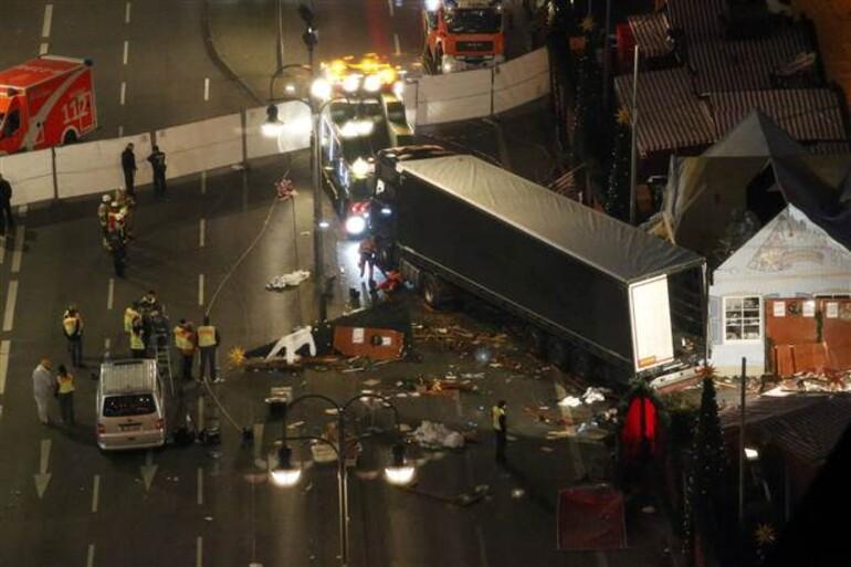 Berlinde TIR, Noel pazarına girdi: En az 12 ölü