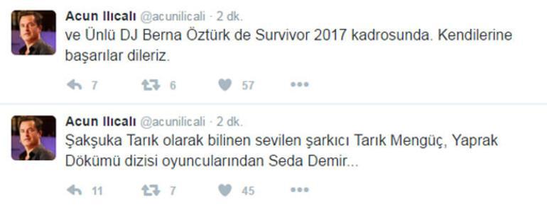 Survivor 2017 Ünlüler kadrosundaki 3 ismi daha açıkladı