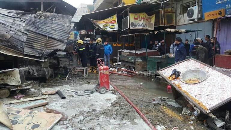 Bağdatta çifte patlama: Onlarca ölü