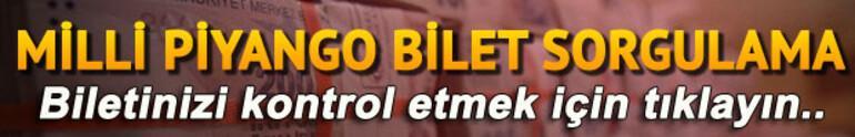 Milli Piyango 2017 çekiliş sonuçları açıklandı - Milli Piyango bilet sorgulama ekranı