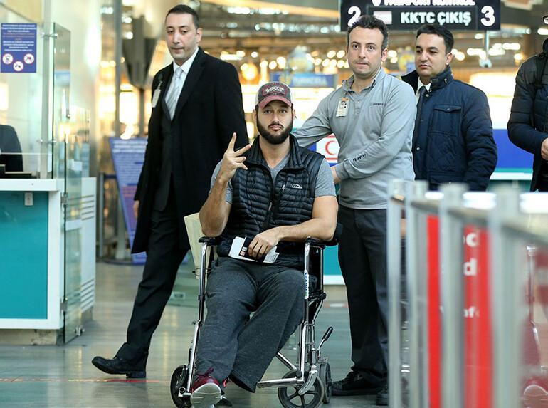 Saldırıdan kurtuldu, Türkiyeden böyle gitti