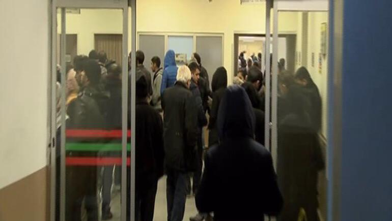 İstanbulda dün akşam hastanelerin acil servislerinde yoğunluk yaşandı