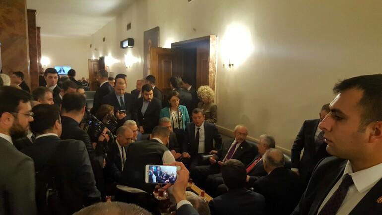 Son Dakika Haberi: Mecliste sürpriz görüşme
