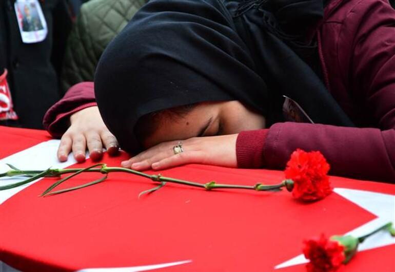 Şehit Astsubay Kıvanç Kaşıkçı son yolculuğuna uğurlandı