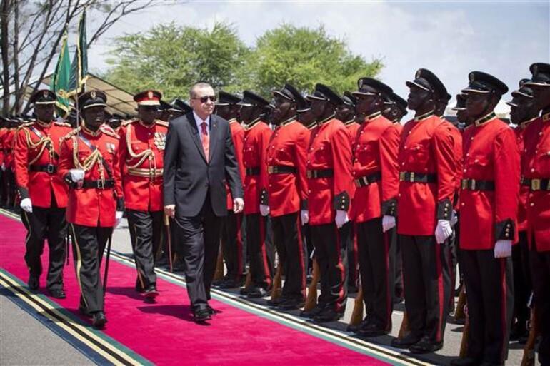 Cumhurbaşkanı Erdoğan Tanzanyada