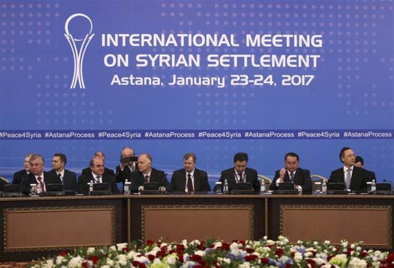 Son dakika: Astanada Türkiye, Rusya ve İrandan ortak açıklama