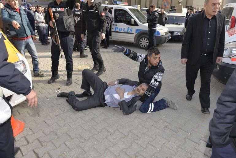 Son dakika: Adana Adliyesi yanında çatışma