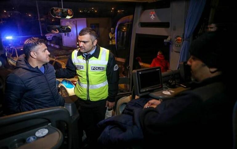 Şehirlerarası otobüslerde 'sivil trafik uygulaması' hayata geçirildi