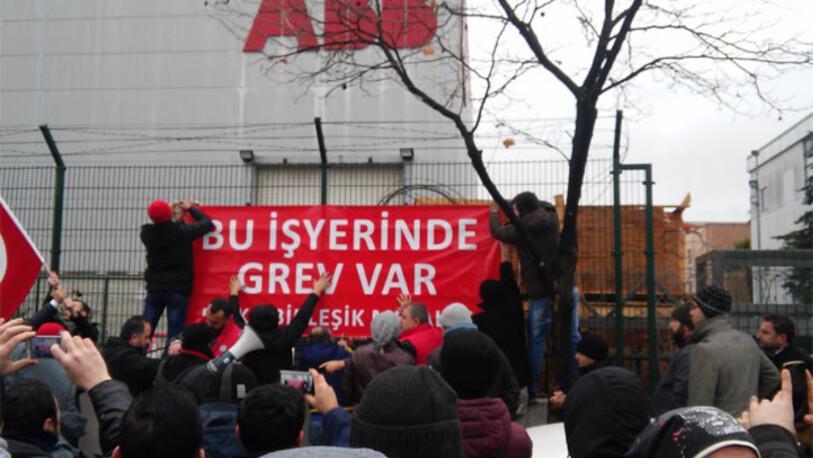 2 bin 200 işçi bu sabah greve gitti