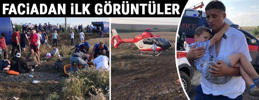 Çorlu'da tren faciası: Ölü ve yaralılar var