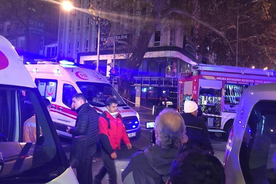Son dakika... Ankara'da doğalgaz hattında patlama: 7 yaralı
