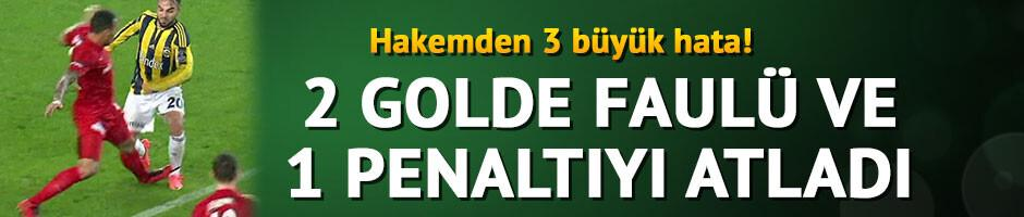 Mustafa Çulcu: 2 golden önce faul vardı, 1 de penaltıyı atladı