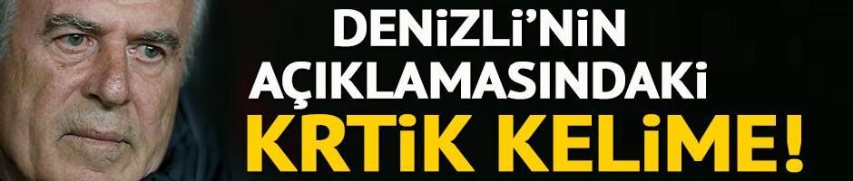 Mustafa Denizli: Görüntümüz üzüntü verici