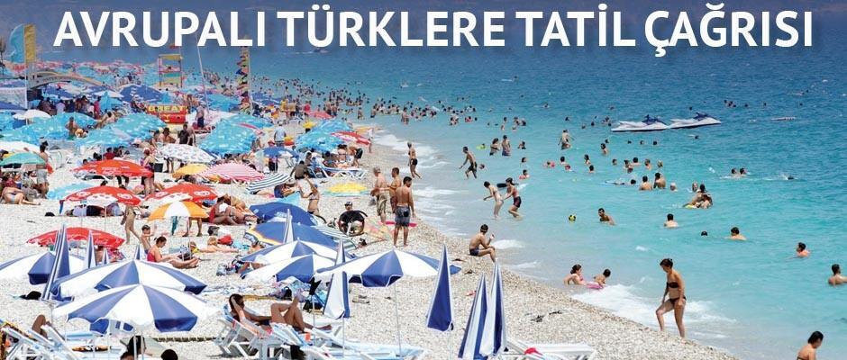 Antalya'dan Avrupa'ya turizm atağı