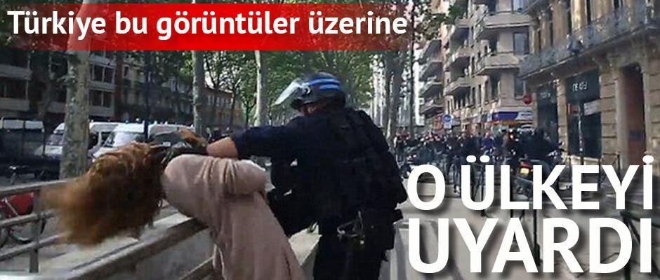 Dışişleri Bakanlığı'ndan Fransa'ya 'orantısız güç' eleştirisi