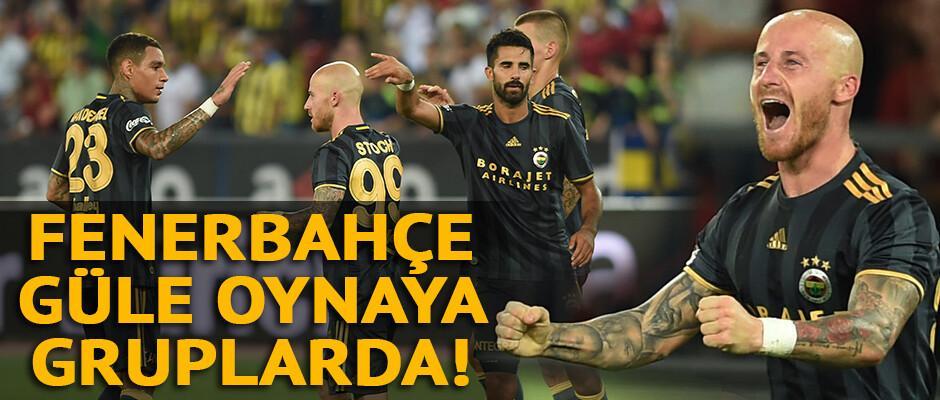 Grasshoppers 0-2 Fenerbahçe / MAÇ ÖZETİ
