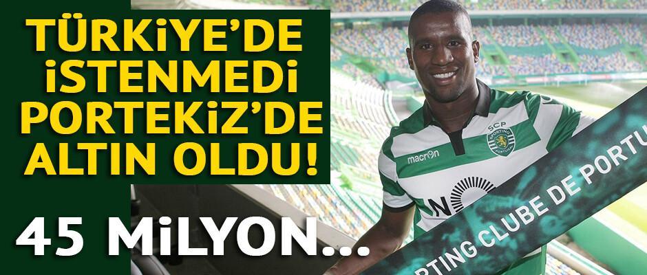 Trabzonsporlu Douglas Lizbon'da!