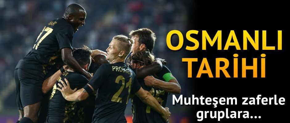 Osmanlı Tarihi! muhteşem zaferle gruplara...