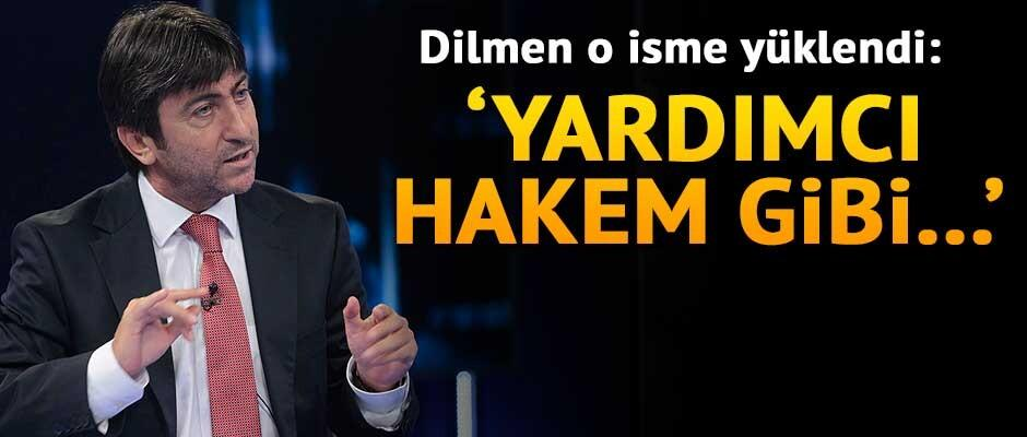 Rıdvan Dilmen o isme yüklendi