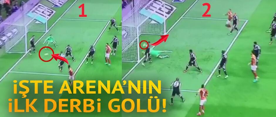 İşte Galatasaray'ı Arena'da öne geçiren gol