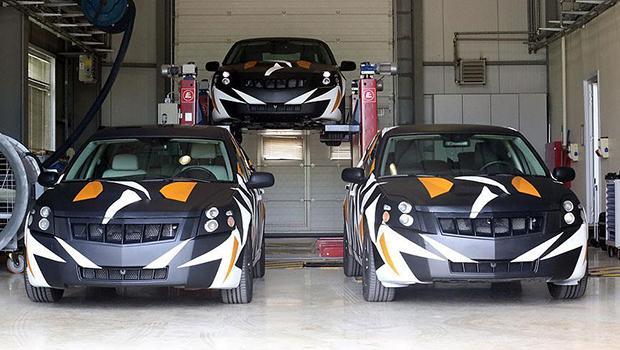 ��te yerli otomobilin prototipi