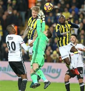 Fenerbahçe-Beşiktaş maçının fotoğrafları