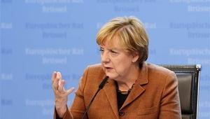 Merkel: Esad dahil birçok aktörle görüşülmeli