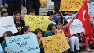 Iraklı Türkmen çocukların eğitimi için eylem