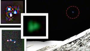 NASA'nın Ay fotoğrafları 'UFO' tartışması yarattı