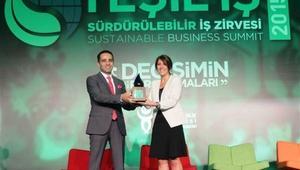 Pozitif Enerji Ödülü Hanzade Doğan Boynere verildi