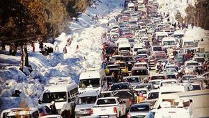 Adanada kar yoğunluğu