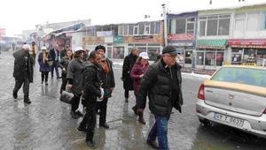 Yalova Belediye Başkanı Salman, Vartoda hayır oyu istedi