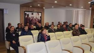 SASKİ'den İş Sağlığı ve Güvenliği Eğitim semineri