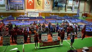 KYK Masa Tenisi Turnuvası, Nevşehirde başladı