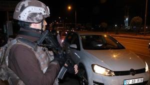 Adıyamanda 340 polisle huzur operasyonu